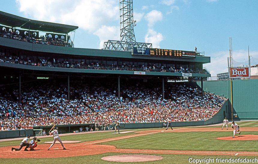 Ballparks: Boston Fenway Park.