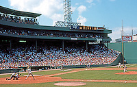 Ballparks: Boston Fenway Park.