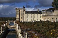 Europe/France/Centre/37/Indre-et-Loire/Villandry: Le château de Villandry et les jardins