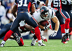 1 November 2009: Houston Texans' tight end Owen Daniels completes at 22 yard reception in the first quarter against the Buffalo Bills at Ralph Wilson Stadium in Orchard Park, New York, United States of America. The Texans defeated the Bills 31-10. Mandatory Credit: Ed Wolfstein Photo