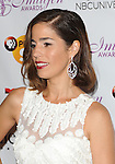 Ana Ortiz arriving at the Imagen Awards 2014 held at The Beverly Hilton Hotel Beverly Hills, Ca. August 1, 2014.