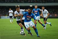 Faouzi Ghoulam Napoli<br /> Napoli 27-08-2017  Stadio San Paolo <br /> Football Campionato Serie A 2017/2018 <br /> Napoli - Atalanta<br /> Foto Cesare Purini / Insidefoto
