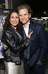 Stephanie J. Block and husband Sebastian Arcelus attends 'Best Worst Thing That Ever Could Have Happened' broadway screening at SAG-AFTRA on November 13, 2016 in New York City.