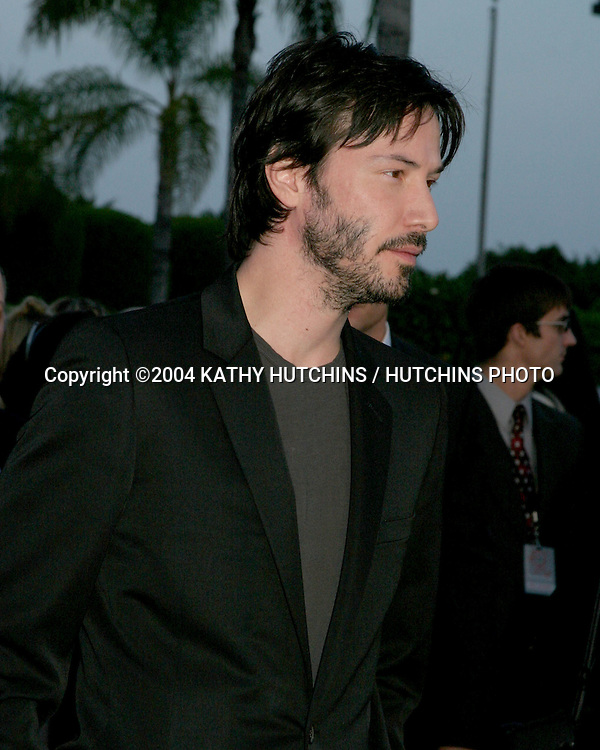 ©2004 KATHY HUTCHINS /HUTCHINS PHOTO.4TH ANNUAL WORLD STUNT AWARDS.LOS ANGELES, CA.MAY 16, 2004..KEANU REEVES.