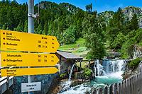 Oesterreich, Osttirol, Virgental, Praegraten am Grossvenediger, Ortsteil Hinterbichl: die Islitzer Muehle am Islitzbach | Austria, East-Tyrol, Virgen Valley, Praegraten am Grossvenediger, district Hinterbichl: Islitzer Mill
