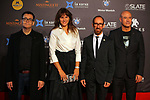 51 Festival Internacional de Cinema Fantastic de Catalunya-Sitges 2018.<br /> Closing Ceremony Gala-Red Carpet.<br /> Angel Sala, Laura Borras, Miquel Forns &amp; Xavier Duran.