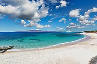 Kastraki beach of Naxos island in Cyclades, Greece