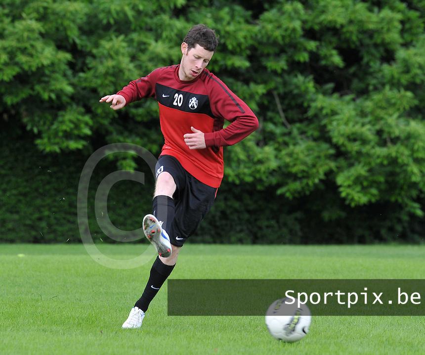 KV Kortrijk : Eerste training met Thomas Matton.foto VDB / BART VANDENBROUCKE