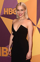 BEVERLY HILLS, CA - JANUARY 7: Emilia Clarke at the HBO Golden Globes After Party, Beverly Hilton, Beverly Hills, California on January 7, 2018. <br /> CAP/MPI/DE<br /> &copy;DE//MPI/Capital Pictures