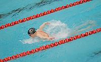 14 MAR 2006 - MELBOURNE, AUSTRALIA - Rebecca Cooke (ENG) swim  training - .Commonwealth Games '06. (PHOTO (C) NIGEL FARROW)