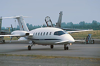 - Italian Air Force, Piaggio P 180 Avanti aircraft....- Aeronautica Militare Italiana, aereo Piaggio P 180 Avanti