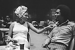 "Bob and Marcia. Young Gifted and Black"" first British tour 1970s England. Bob Andy and Marcia Griffith. Boston Stump Lincolnshire. Bob Andy and Marcia Griffiths."