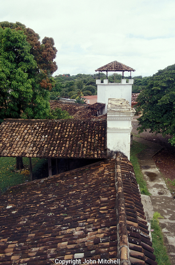 Fortaleza de la Polvora in Granada, Nicaragua. Spanish Colonial fort built in 1748 to protect Granada's gunpowder cache from pirates.