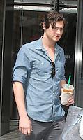 June 18 , 2012: Benjamin Walker at VH1Morning Buzz to talk about his new movie Abraham Lincoln Vampire Hunter in New York City. &copy; RW/MediaPunch Inc. NORTEPHOTO.COM<br /> **SOLO*VENTA*EN*MEXICO**<br /> **CREDITO*OBLIGATORIO** <br /> *No*Venta*A*Terceros*