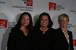 Fran Drescher - Rosie O'Donnell - Kelly at the Rosie's For All Kids Foundation and Rosie's Broadway Kids were created because of Rosie's love of children and the knowledge that one person can make a difference in the life of a child on Nov. 24. 2008 at the New York Marriott Marquis, NYC, (Photo by Sue Coflin/Max Photos)