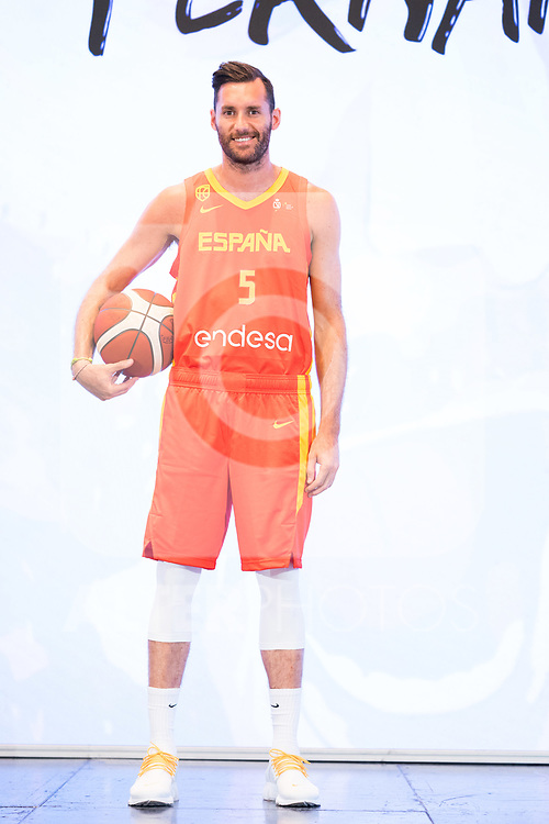 Player Rudy Fernandez during the official presentation of Spanish National Team of Basketball.  July 24, 2019. (ALTERPHOTOS/Francis Gonzalez)