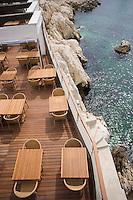 Europe/France/Provence-Alpes-Côte d'Azur/13/Bouches-du-Rhône/Marseille:Restaurant  Péron Corniche Kennedy la terrasse