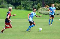 Boyds, MD - Sunday July 31, 2016: Taylor Lytle during a regular season National Women's Soccer League (NWSL) match between the Washington Spirit and Sky Blue FC at Maureen Hendricks Field, Maryland SoccerPlex. The Washington Spirit defeated Sky Blue FC 3-1.