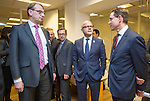 BRUSSELS - BELGIUM - 28 November 2016 -- Inauguration of the Nordic Energy Office. --  (f. right) Jyrki Katainen, Vice-president of the European Commission, responsible for Jobs, Growth, Investment and Competitiveness; Vidar Helgesen, Minister for Climate of Norway and Jukka Leskelä (Leskela, Leskelae), Finnish Energy. -- PHOTO: Juha ROININEN / EUP-IMAGES