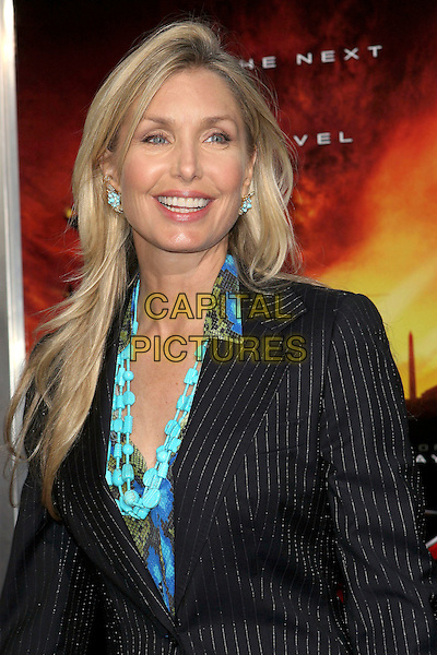 "HEATHER THOMAS.The premiere of ""XXX: State of the Union"" held at the Mann Village Theatre, Westwood, California .April 25th, 2005.Photo Credit: Jacqui Wong/AdMedia.headshot portrait turquoise necklace.www.capitalpictures.com.sales@capitalpictures.com.© Capital Pictures."