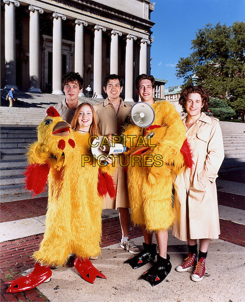 ANGELA GOETHALS, EBON MOSS-BACHRACH, GEOFFREY AREND, ALEX BURNS & MICHAEL GOLDSTROM.in Porn n Chicken.*Editorial Use Only*.www.capitalpictures.com.sales@capitalpictures.com.Supplied by Capital Pictures.