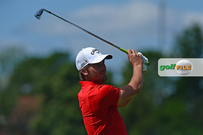 Haydn Porteous of South Africa during Round 4 of the Nordea Masters, Bro Hof Slott Golf Club, Stockholm, Sweden. 05/06/2016<br /> Picture: Richard Martin-Roberts / Golffile<br /> <br /> All photos usage must carry mandatory copyright credit (&copy; Golffile | Richard Martin- Roberts)