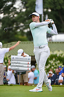 Dylan Frittelli (RSA) watches his tee shot on 12 during Rd4 of the 2019 BMW Championship, Medinah Golf Club, Chicago, Illinois, USA. 8/18/2019.<br /> Picture Ken Murray / Golffile.ie<br /> <br /> All photo usage must carry mandatory copyright credit (© Golffile | Ken Murray)