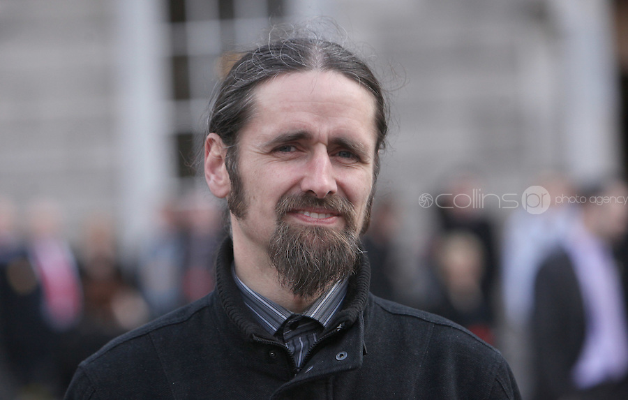 "09/03/2011.Luke "" ming the merciless"" Flannagan.during the 1st day of the 31st Dail.at Leinster House,  Dublin..Photo: Gareth Chaney Collins"