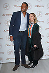 Michael Strahan and Nicole Richie arrive at the Jacques Penné - JCPenney Holiday Boutique Pop-Up Shop opening at 446 Broadway in New York City, on December 7, 2017.