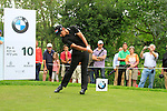 Matteo Manassero (ITA) in action on the 10th tee during the Pro-Am Day of the BMW International Open at Golf Club Munchen Eichenried, Germany, 22nd June 2011 (Photo Eoin Clarke/www.golffile.ie)
