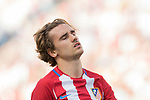 Antoine Griezmann of Atletico de Madrid reacts during their La Liga match between Atletico de Madrid and Sevilla FC at the Estadio Vicente Calderon on 19 March 2017 in Madrid, Spain. Photo by Diego Gonzalez Souto / Power Sport Images