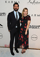 NEW YORK, NY - APRIL 13: John Krasinski and Emily Blunt at Variety's Power Of Women: New York at Cipriano Wall Street in New York City on April 13, 2018. <br /> CAP/MPI/PAL<br /> &copy;PAL/MPI/Capital Pictures