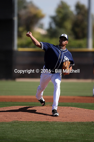 Dinelson Lamet - San Diego Padres 2016 spring training (Bill Mitchell)