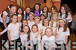 The Ballybunnion group who took part in the county finals of the Community Games Choir competition in Rathmore Community Centre on Sunday were Sinead Hanrahan, Hannah May Wall, Niamh Stack, Louise Hanrahan, Kerri Ann Williams Kissane, Donna Buckley, Rachel Hanrahan, Rachel Stack, Sarah Mulvihill, Erica Mulcare, Sarah Moore, Renee Cooke, Sarah Long, Lorna Enright, Muireann Beasley, Meadhbh Griffin, Shauna Breen, Molli Buckley and Maria Clancey..