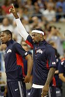USA's LeBron James during friendly match.July 22,2012. (ALTERPHOTOS/Acero) /NortePhoto.com*<br /> **CREDITO*OBLIGATORIO** <br /> *No*Venta*A*Terceros*<br /> *No*Sale*So*third*<br /> *** No Se Permite Hacer Archivo**