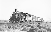 #478 with San Juan between Alamosa and Antonito.<br /> D&amp;RGW  between Alamosa and Antonito, CO  Taken by Richardson, Robert W. - 9/9/1946