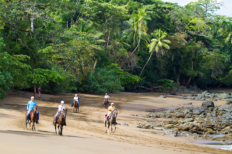 The Corcovado Nature Preserve on the Osa Peninsula of Costa Rica, Central America