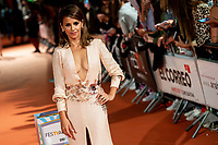 Actress Monica Cruz taking a selfie with fans during orange carpet of 'Velvet' during FestVal in Vitoria, Spain. September 04, 2018. (ALTERPHOTOS/Borja B.Hojas) /NortePhoto.com NORTEPHOTOMEXICO