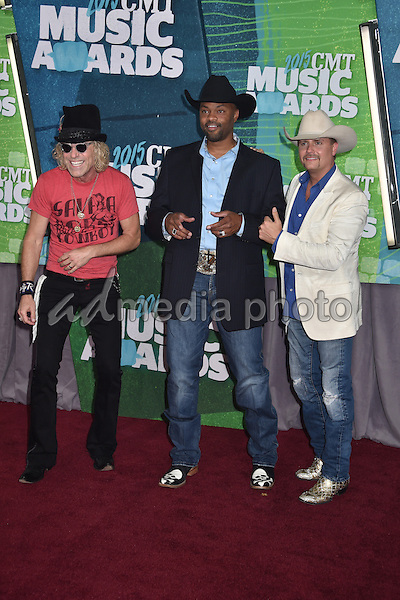 10 June 2015 - Nashville, Tennessee - Big Kenny, Cowboy Troy, John Rich. 2015 CMT Music Awards held at Bridgestone Arena. Photo Credit: Laura Farr/AdMedia