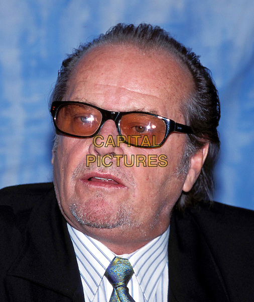 JACK NICHOLSON.Ref: ND.sunglasses, shades, headshot, portrait .www.capitalpictures.com.sales@capitalpictures.com.© Capital Pictures