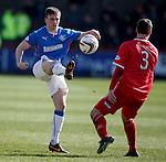 Calum Gallagher lobs Jonny Brown