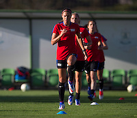 USWNT Training, August 1, 2016