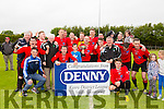 Tralee Dynamos AFC win the Denny Premier A League Final against Listowel Celtic AFC at Mounthawk Park on Sunday