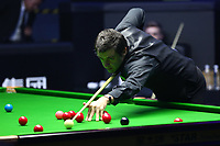 Beijing, CHINA-2nd April 2018: English professional snooker Ronnie O'Sullivan competes with Ross Muir at the qualifying for Snooker China Open 2018 in Beijing. (EDITORIAL USE ONLY. CHINA OUT)