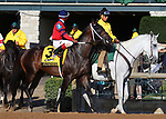 October 06, 2018 : #3 Fluminense and Ricardo Santana Jr. in the 105th running of The Claiborne Breeders' Futurity (Grade 1) $500,000 at Keeneland Race Course on October 06, 2018 in Lexington, KY.  Candice Chavez/ESW/CSM
