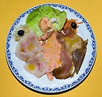 Fish Dish, Sabatini Restaurant, Florence, Tuscany, Italy