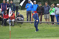 Matthew Fitzpatrick (ENG) on the 5th during Round 3 of the D+D Real Czech Masters at the Albatross Golf Resort, Prague, Czech Rep. 02/09/2017<br /> Picture: Golffile | Thos Caffrey<br /> <br /> <br /> All photo usage must carry mandatory copyright credit     (&copy; Golffile | Thos Caffrey)