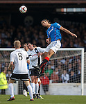 Bilel Mohsni with his rocket boots on