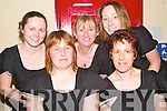 DANCERS: Taking part in the North Kerry Sco?r finals in the community centre, Asdee, on Saturday night were front l-r: Leesha Meehan and Eileen Fogarty. Back l-r: Margaret O'Connor, Margaret Hayes and Fiona Barrett.   Copyright Kerry's Eye 2008