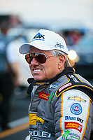 Aug 31, 2018; Clermont, IN, USA; NHRA funny car driver John Force during qualifying for the US Nationals at Lucas Oil Raceway. Mandatory Credit: Mark J. Rebilas-USA TODAY Sports